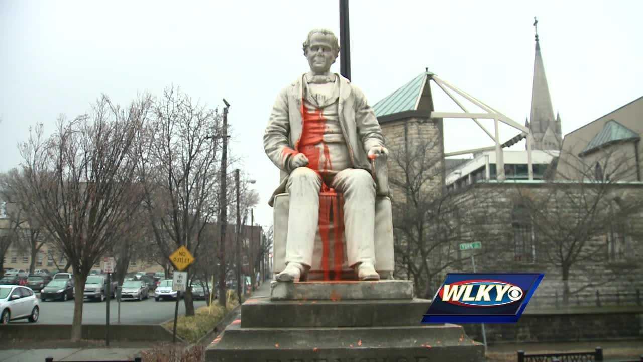 confederate statue, vandals