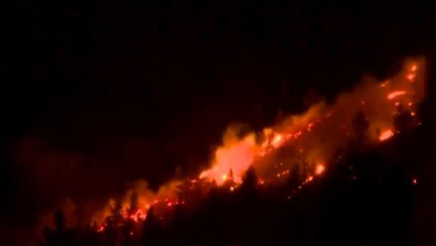 El Dorado County Wildfire