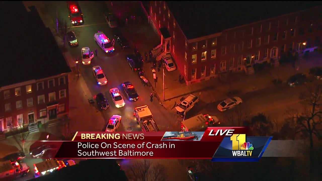 Lombard Street crash