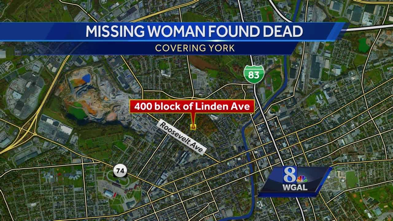 Location map body of missing woman found Alyssa Sprigle
