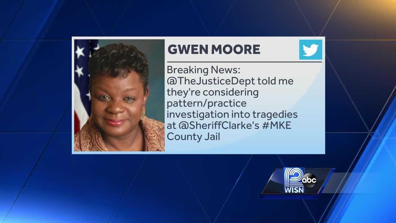 Gwen Moore's tweet on jail investigation