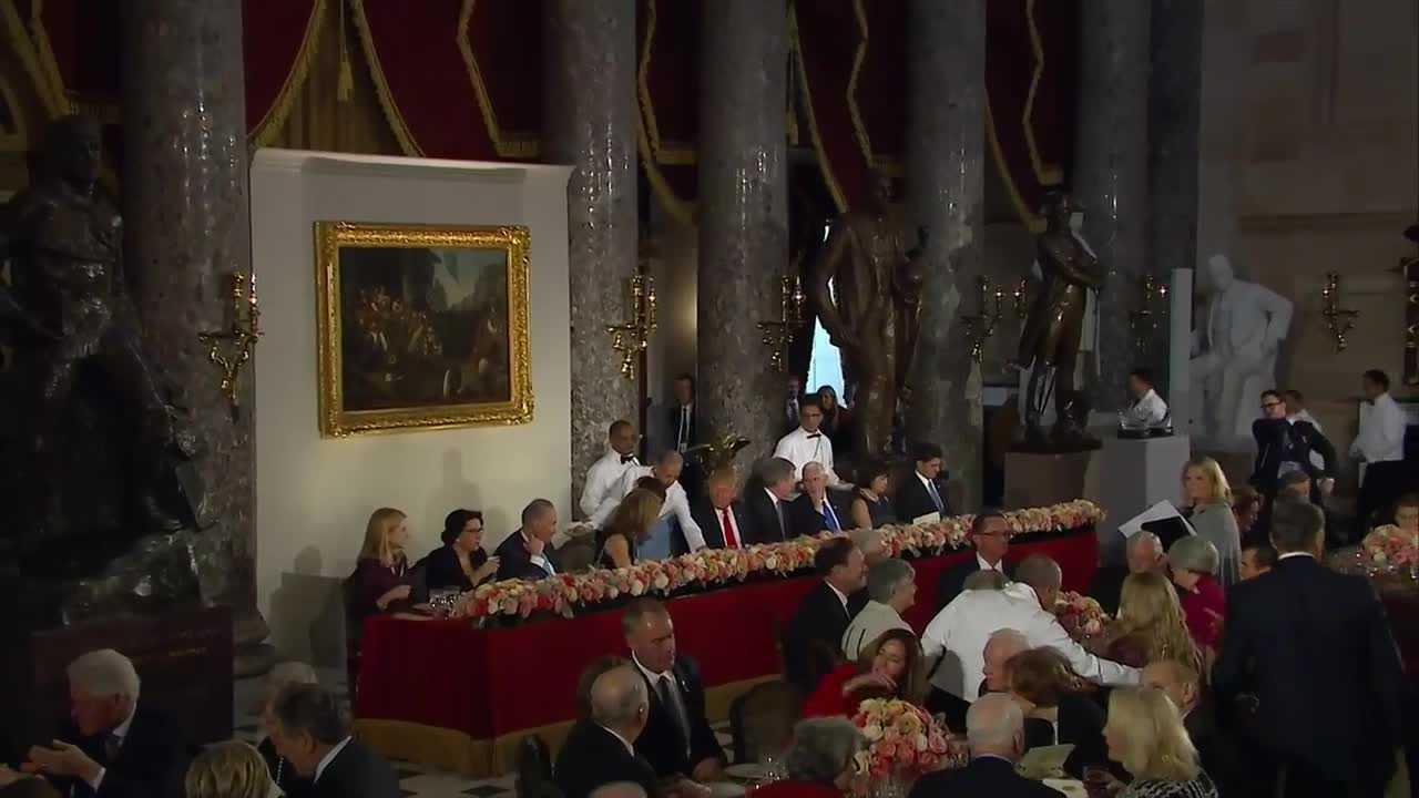 Donald Trump inaugural luncheon