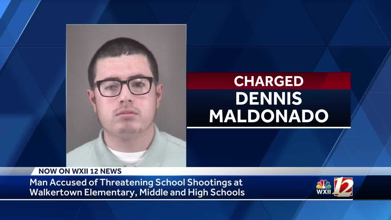Police: Winston-Salem man threatens to shoot at 3 Triad schools, murder family members