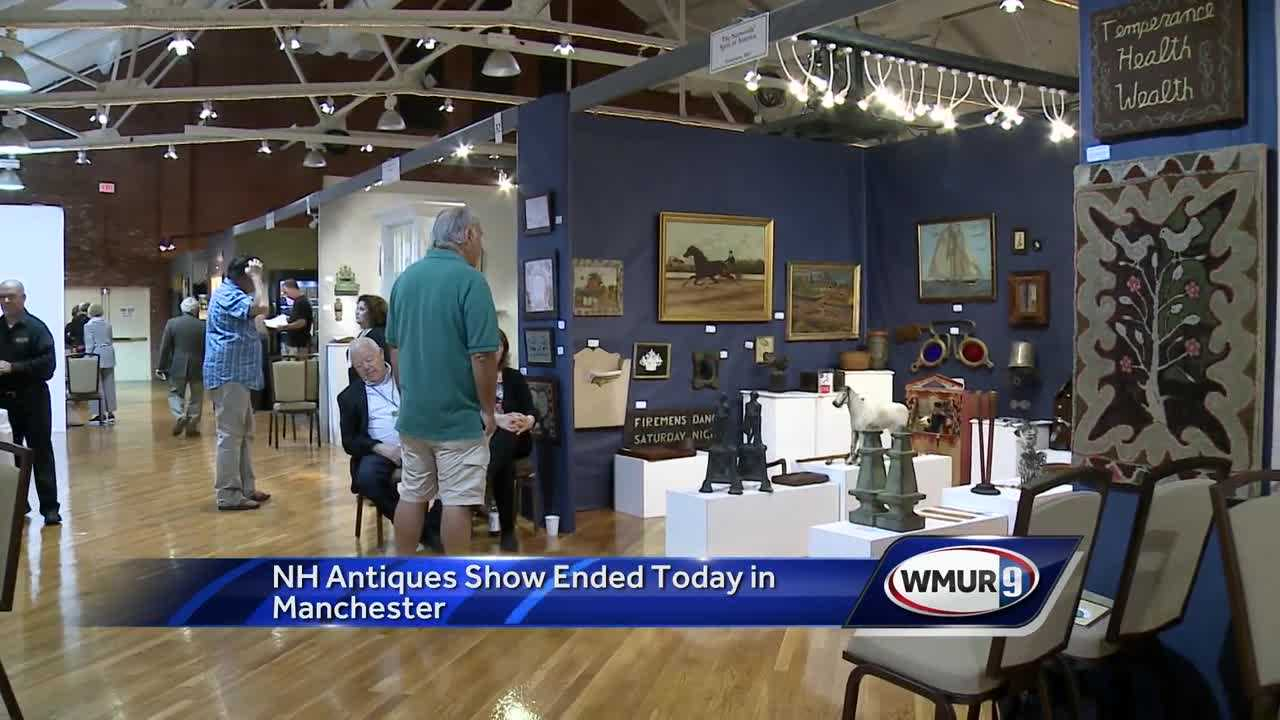 New Hampshire Antiques Show wrapped up Saturday in Manchester