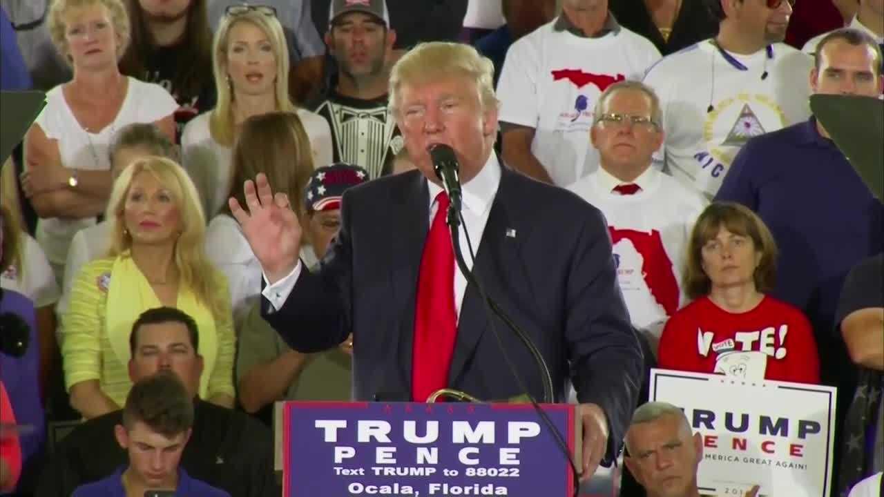 Donald Trump in Ocala
