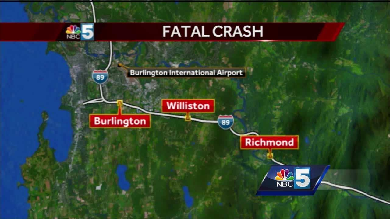 I-89 fatal crash map