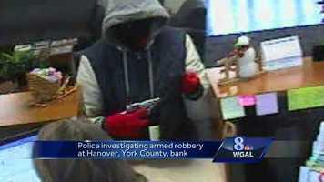 Hanover bank robbery surveillance