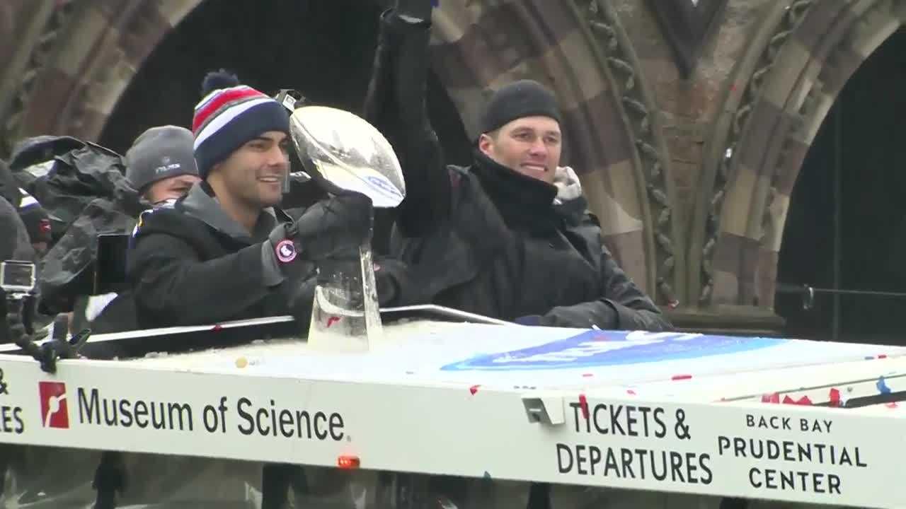 Brady and Garoppolo
