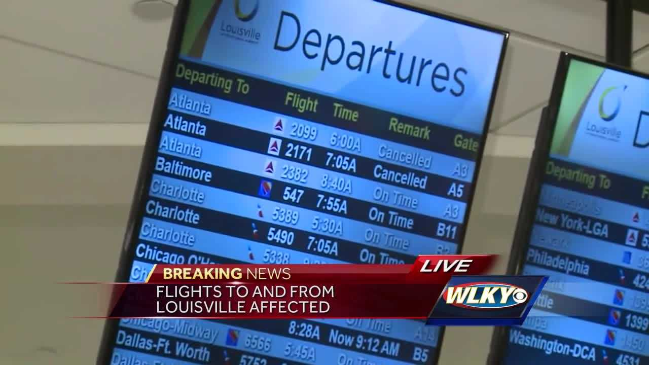 Little effect on RDU schedules today from Atlanta airport outage