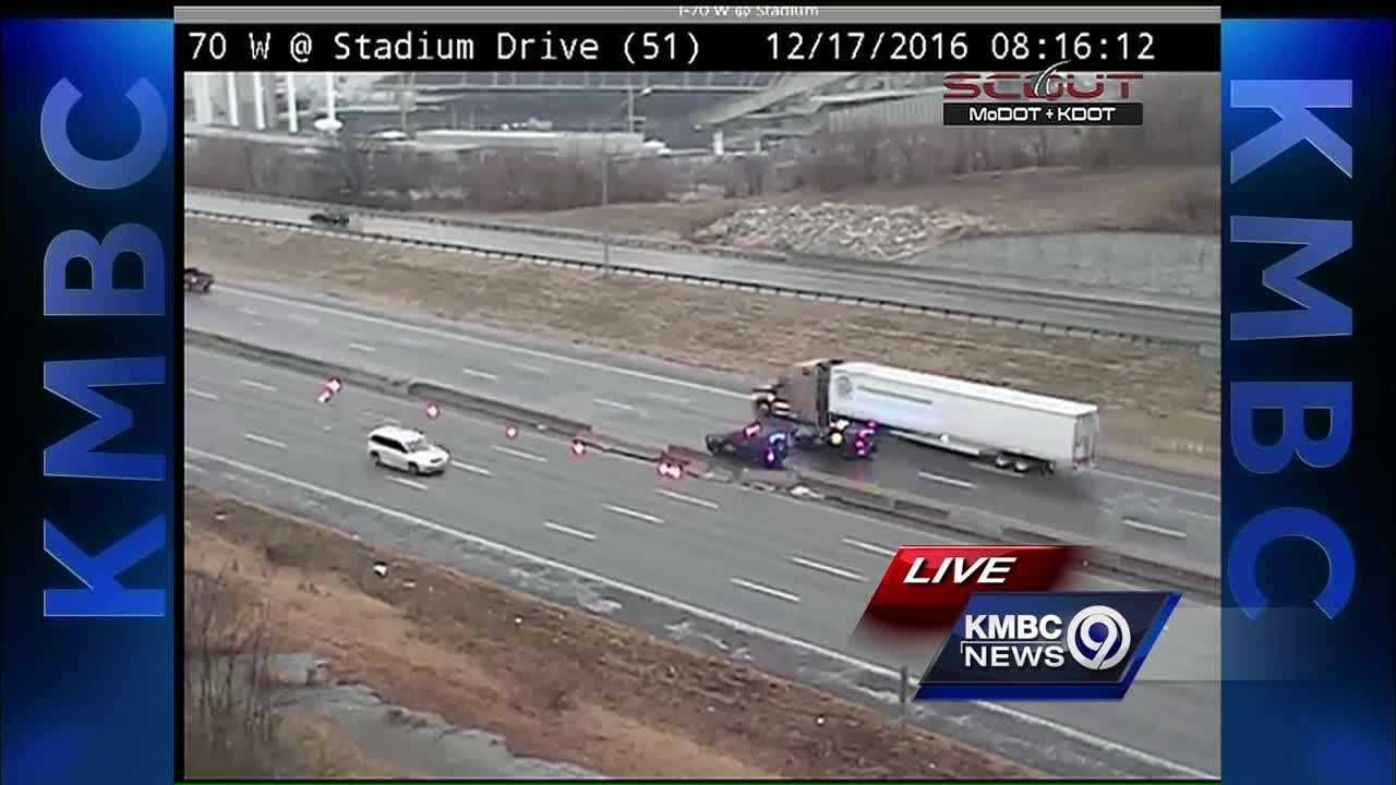 Crash on I-70