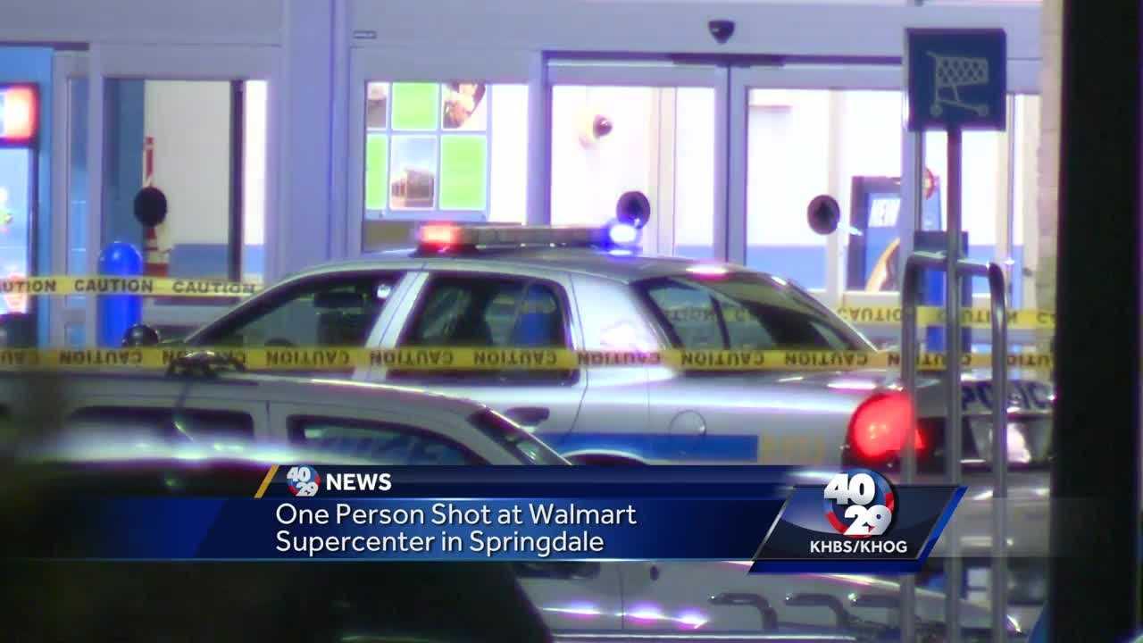 Shots fired at Springdale Walmart