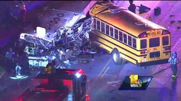 MTA, school bus crash