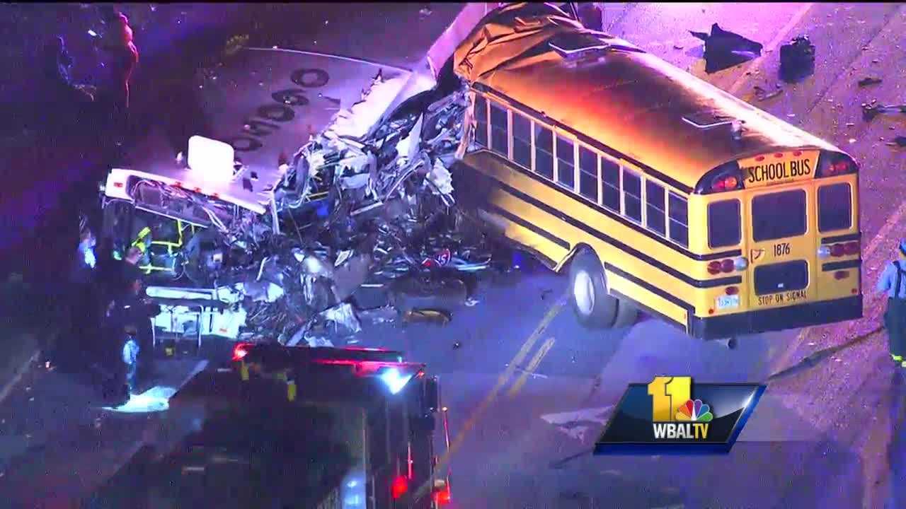 MTA, school bus crash 1