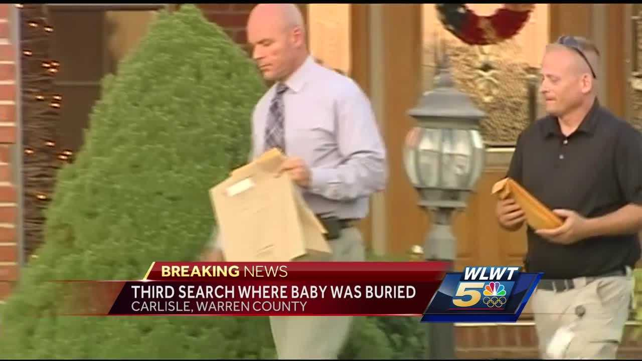 officials sift through warren co home where baby remains were found