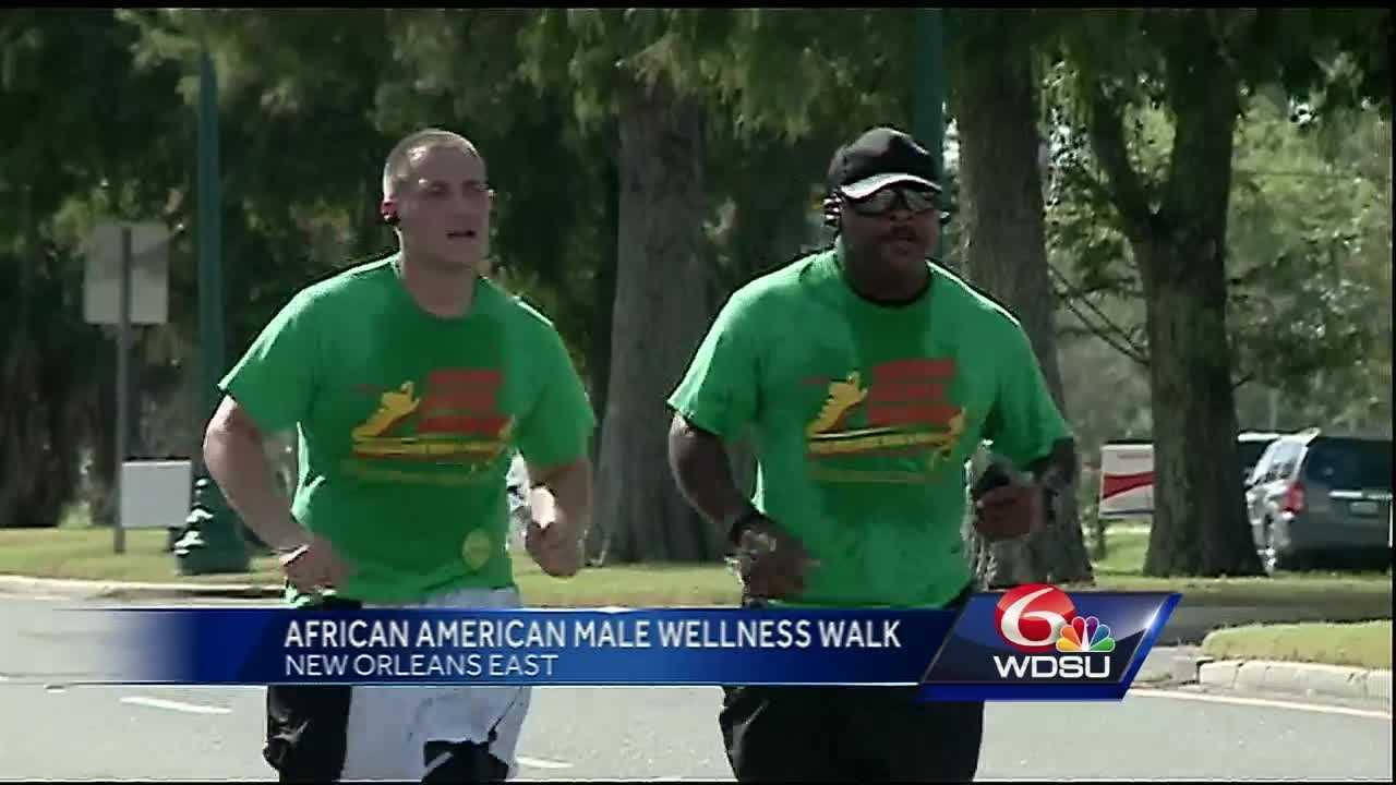 African-American Male Wellness Walk in NOLA