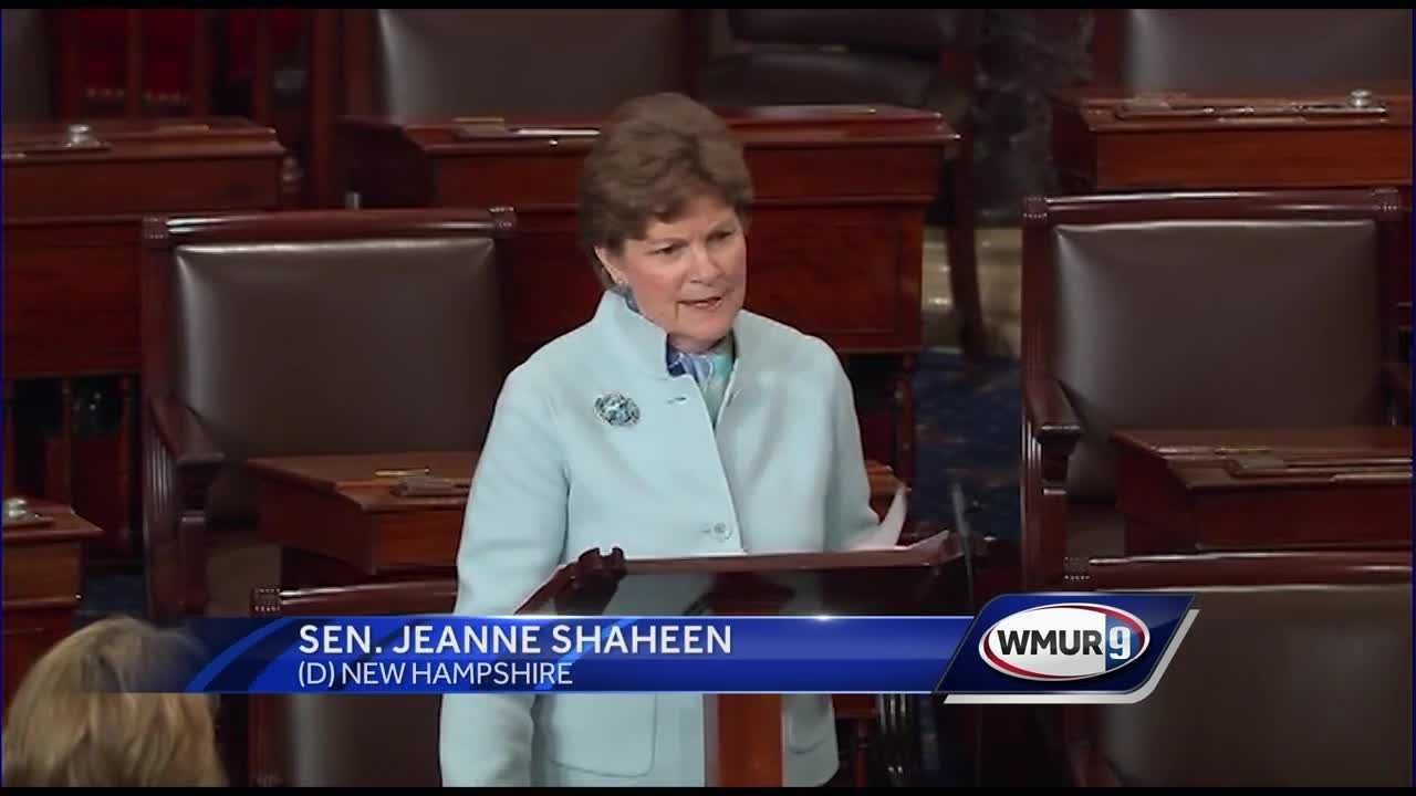 Jeanne Shaheen urges fellow senators to support special visas for Afghans