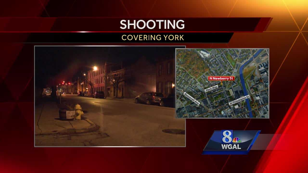 North Newberry Street shooting York