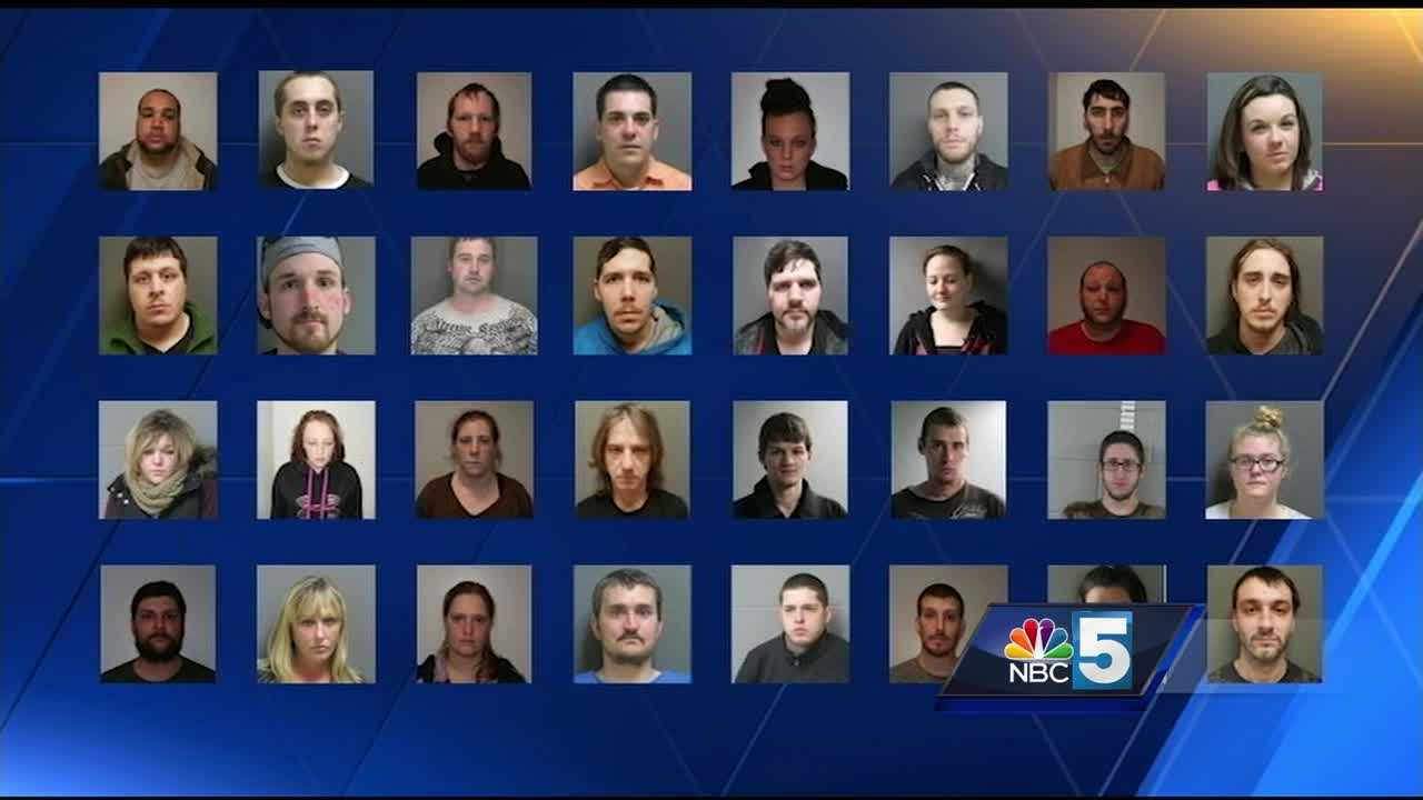 Orleans County drug suspects