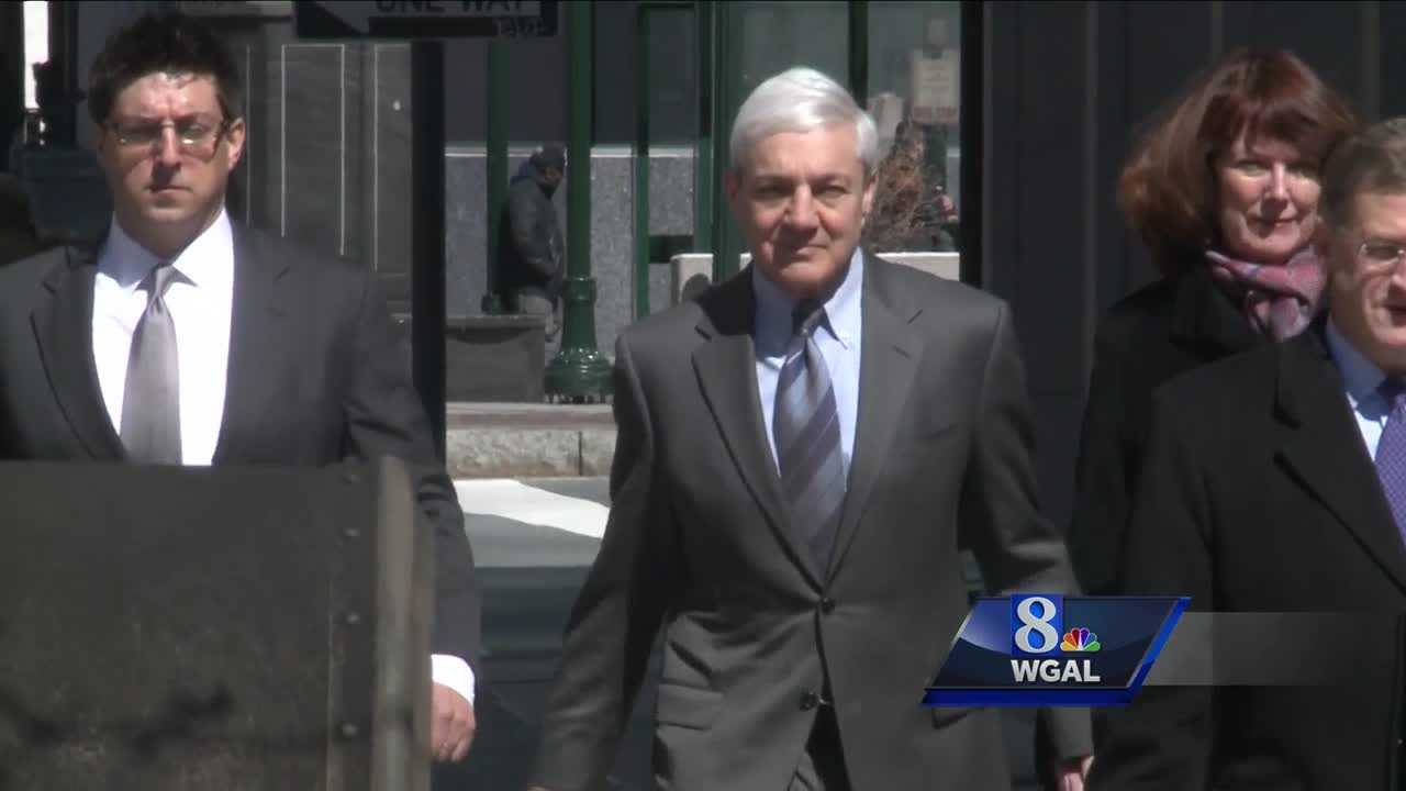 Spanier guilty on one of three child endangerment counts