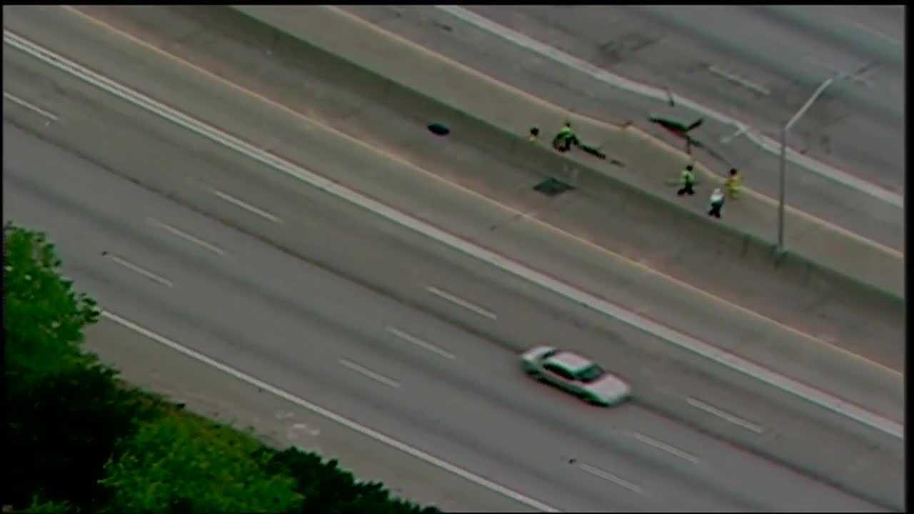 Atlanta I-20 buckled