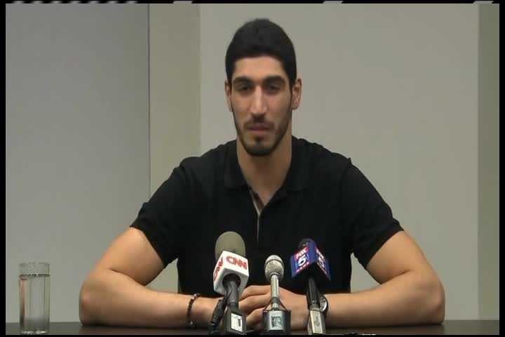 Death threats may prompt Thunder's Enes Kanter to become US citizen