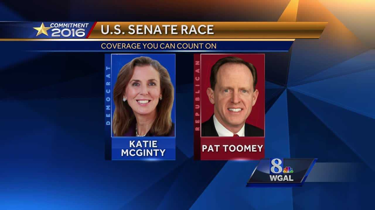 Pennsylvania Senate race Toomey v McGinty