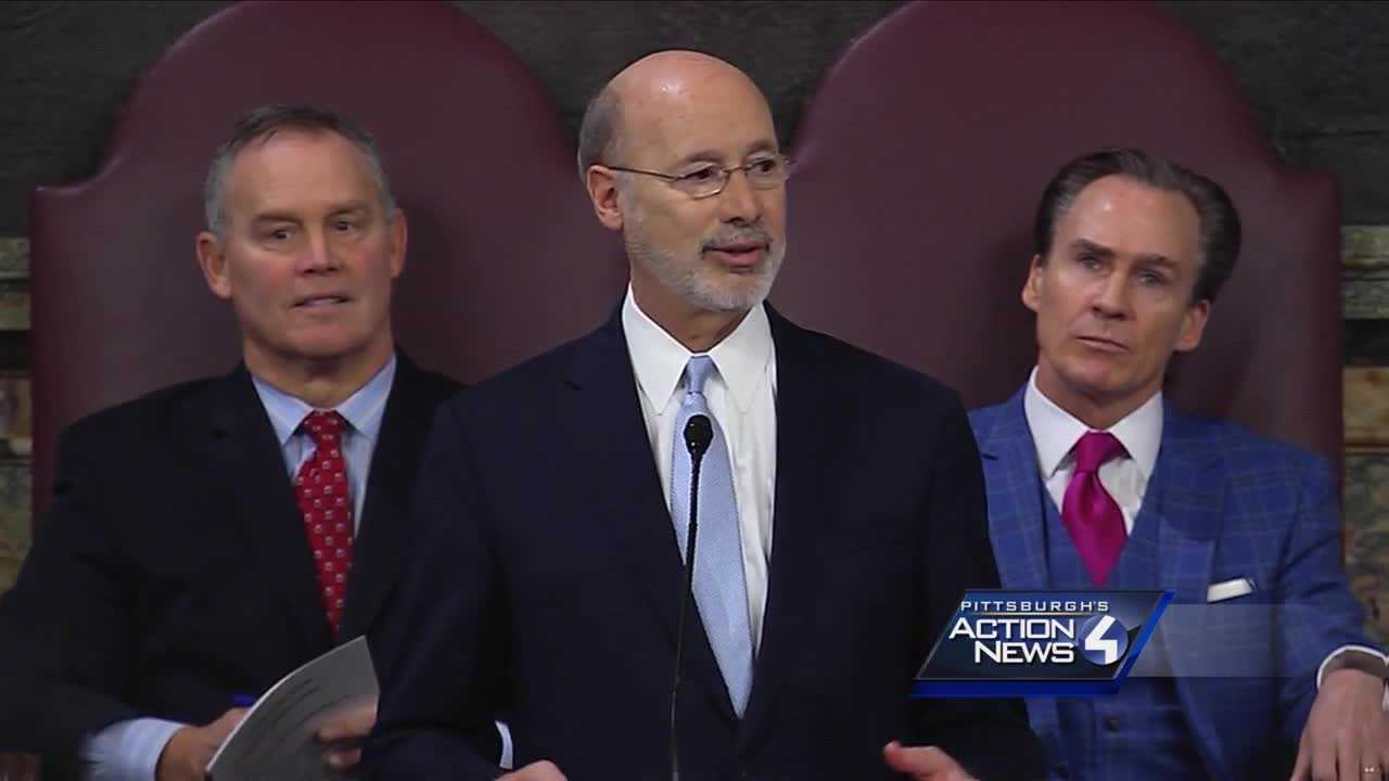 Governor Tom Wolf 2017 budget proposal speech