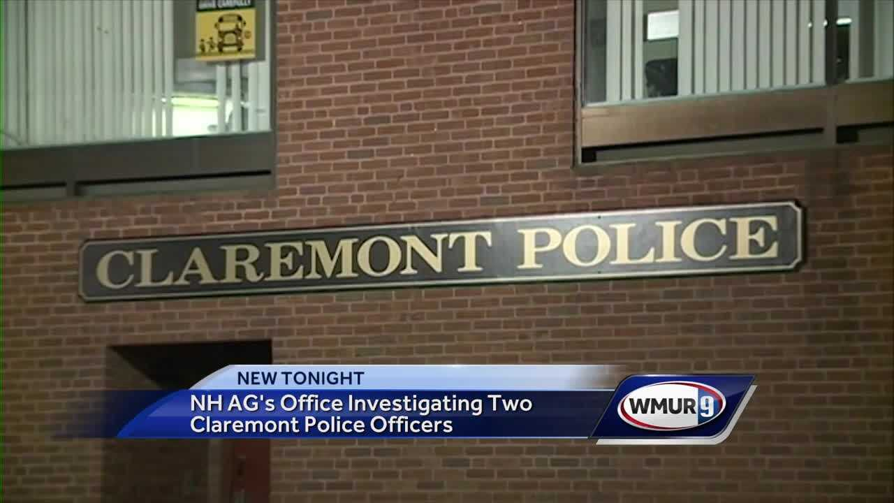 Attorney general investigating two Claremont police officers