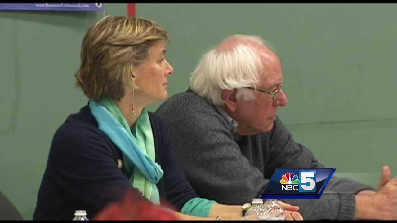 Sue Minter & Bernie Sanders