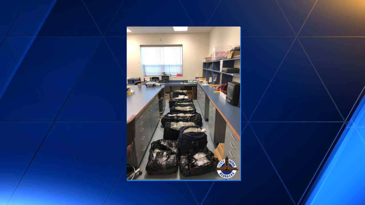 Virginia State Police seizes 10 pounds of marijuana, arrest two