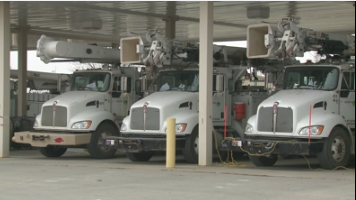 Power companies on standby in case of ice