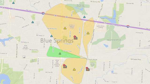 15 polling places impacted by power outages in Jackson County