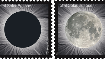 New total eclipse stamp features Kansas City, Kansas