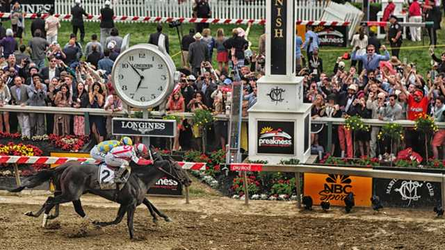 Cloud Computing wins 142nd Preakness