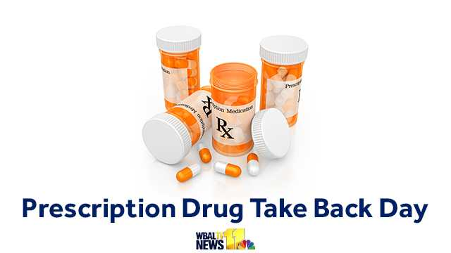 Prescription Drug Take-Back Day is April 29