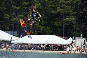 Tony Iacconi at the 2015 Supra Boats Pro Wakeboard Tour in Acworth, Ga.
