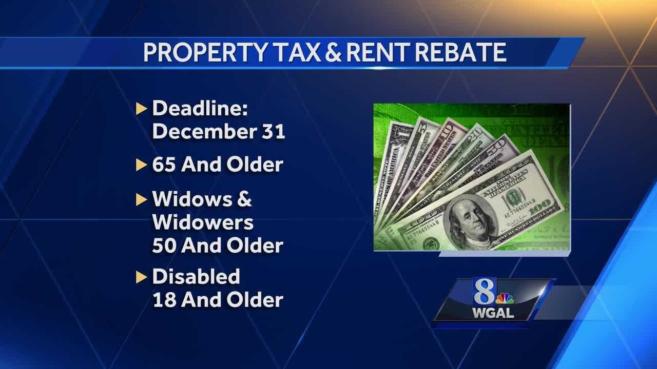 PAs Property TaxRent Rebate application deadline is Dec 31st – Rent Rebate Form