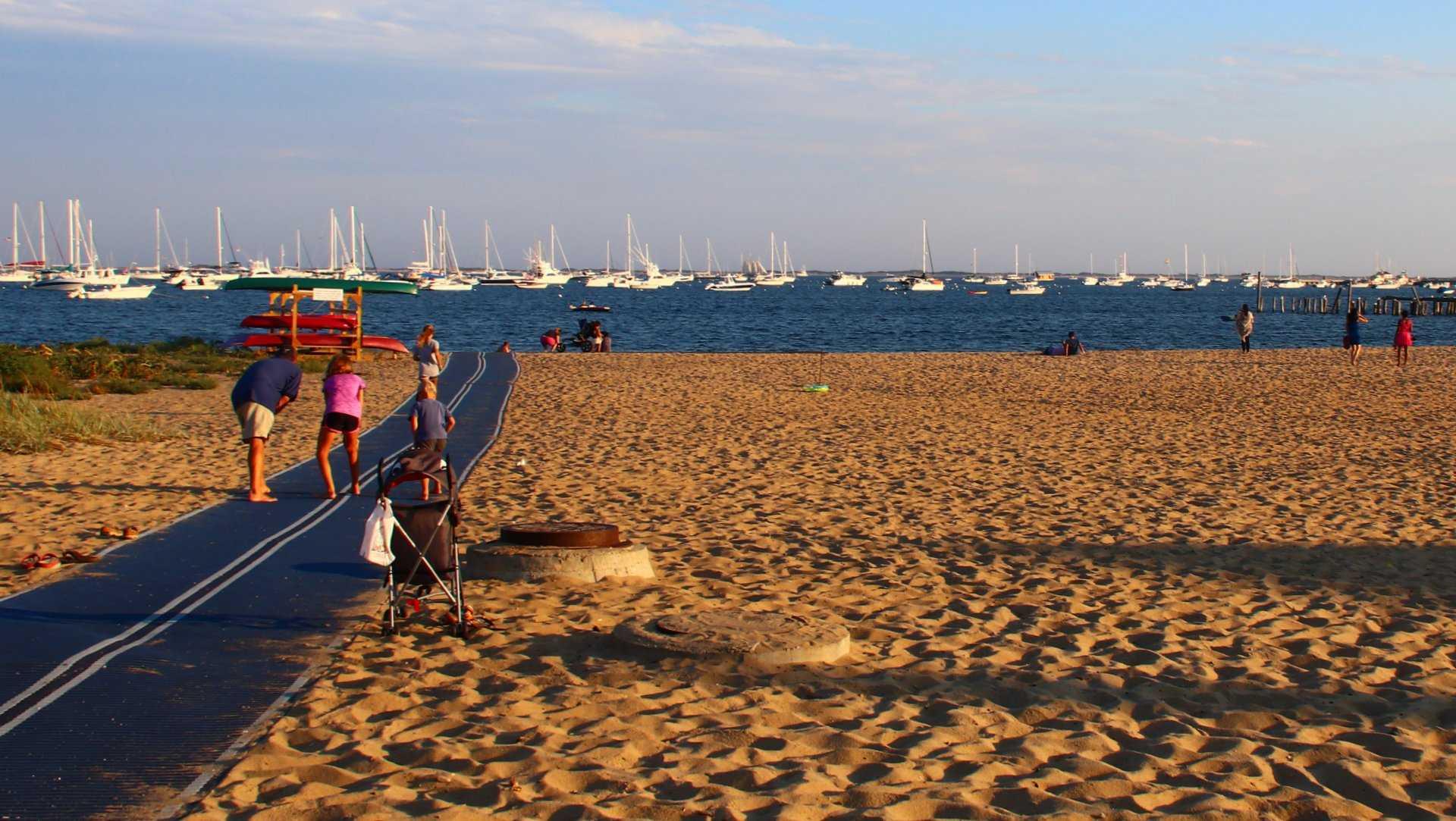 Provincetown beach pathway