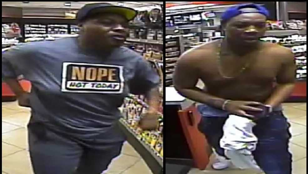 Men wanted in assault at QT
