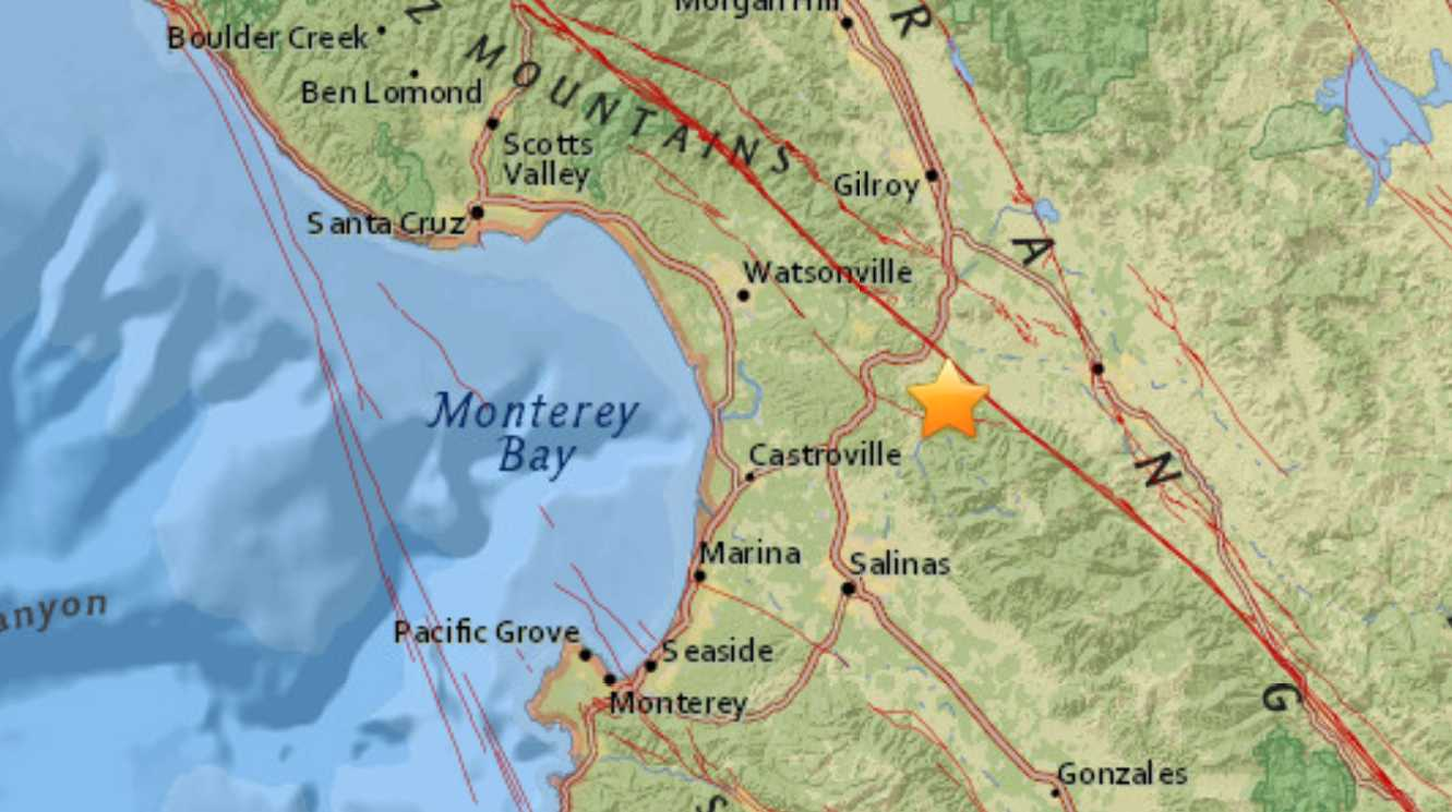 Magnitude 5.8 quake hits off northern California -USGS