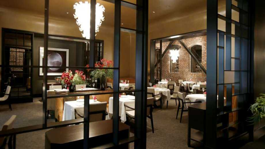 The interior of Quince in San Francisco.