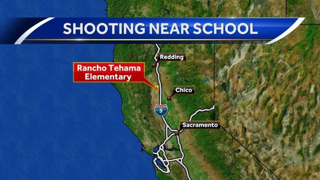 5 killed in shooting that ends at California elementary school, official says