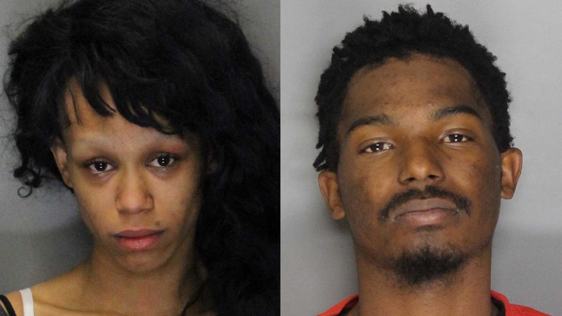 Kayla Randall, 19, (left) and Keiyonte Davis, 20, (right) were arrested in connection to sex trafficking a girl, the Citrus Heights Police Department said.