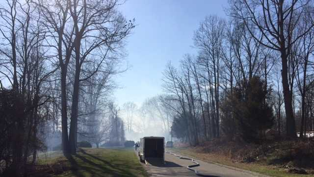 Randallstown brush fire