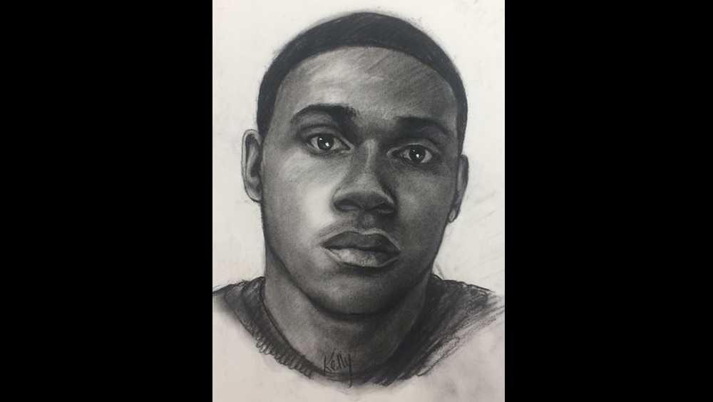 Police sketch of rape suspect