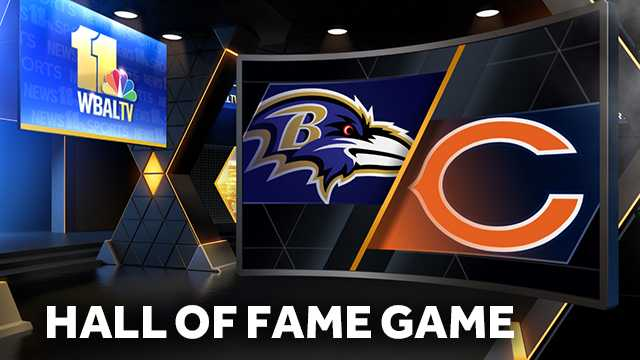 Ravens To Play The Bears In 2018 Hall Of Fame Game