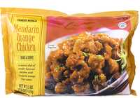 <p>mandarin orange chicken from Trader Joe's</p>