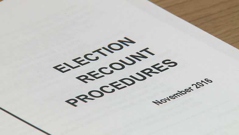 Election recount procedures
