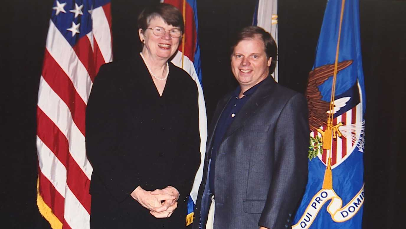 Former U.S. Attorney General Janet Reno and Former U.S. Attorney Doug Jones