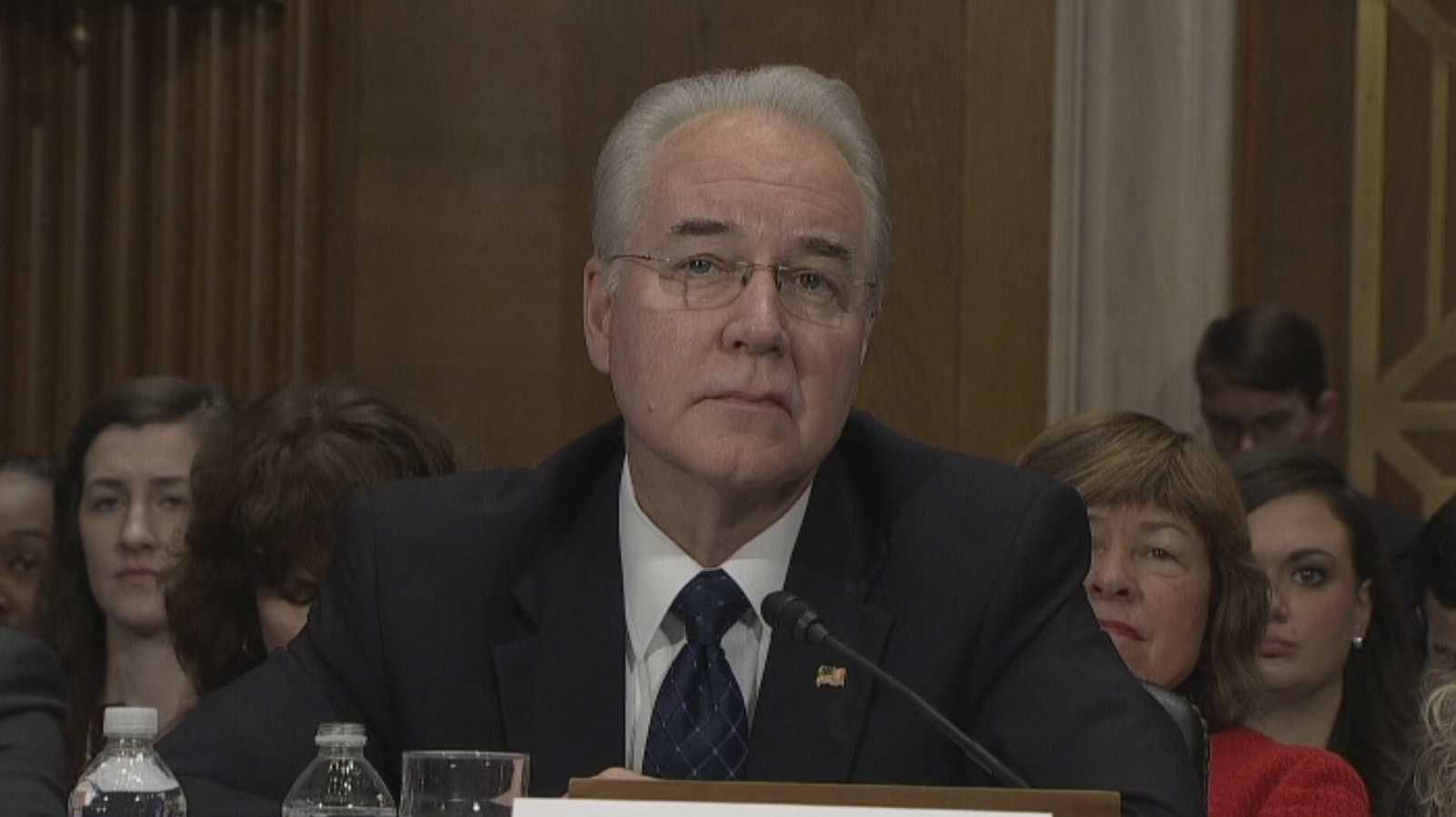 Health secretary Tom Price